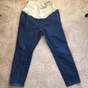Loft maternity full panel jeans